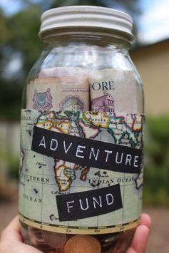 Travel Fund Jar