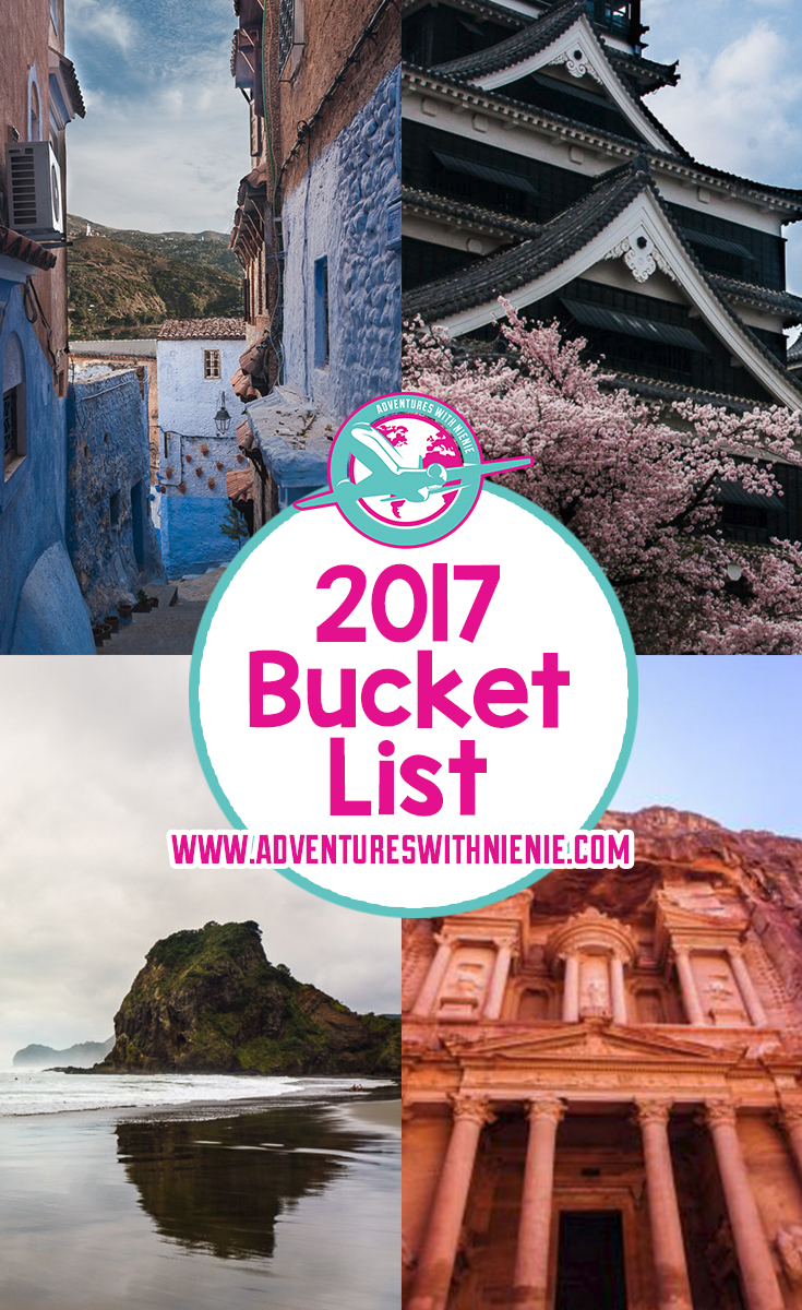 2017 Bucket List Pinterest Cover